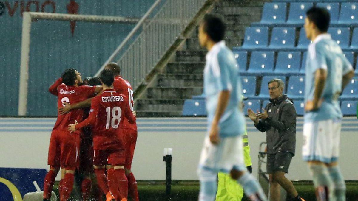 Con tres chilenos titulares: Celta empata y se despide de la Copa del Rey