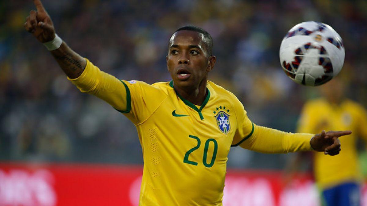 Robinho apunta a la selección y a la Libertadores como factores de su regreso a Brasil