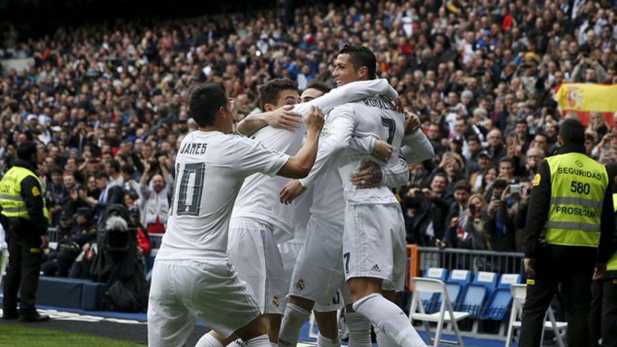Zidane sigue celebrando: Real Madrid gana y sigue en la lucha por el título de España
