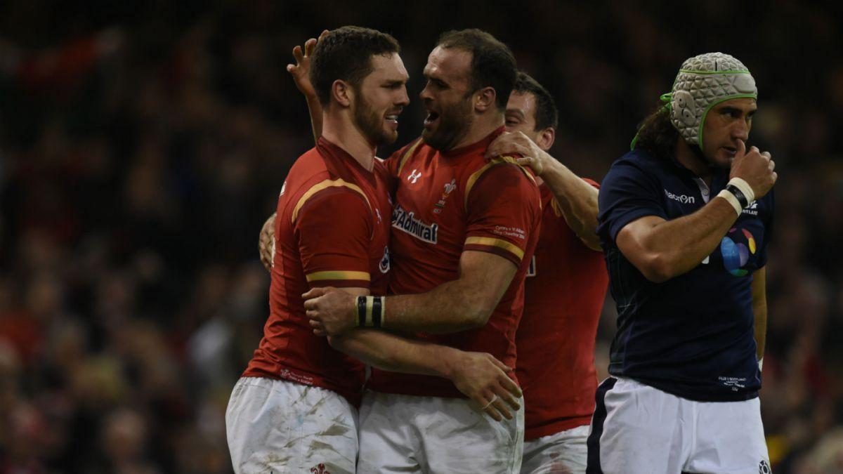 Gales se impone a Escocia y suma su primer triunfo en el Torneo de las Seis Naciones