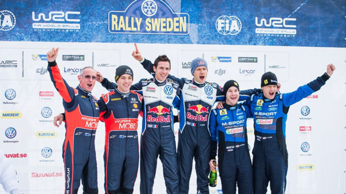 Piloto francés gana el rally de Suecia