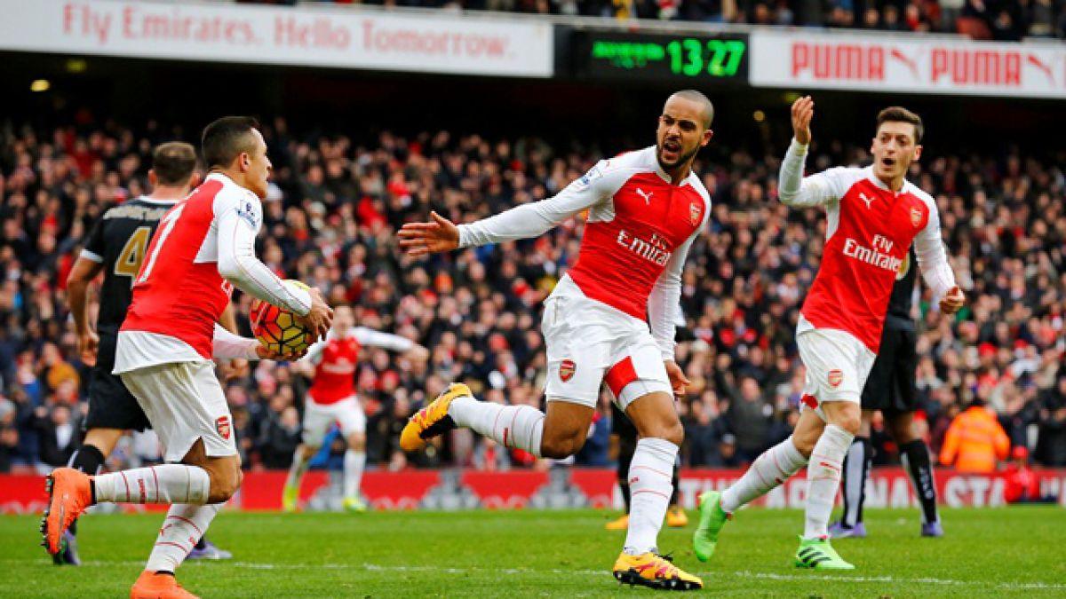 De manera agónica: Arsenal derrota al Leicester y sigue en la lucha por el título