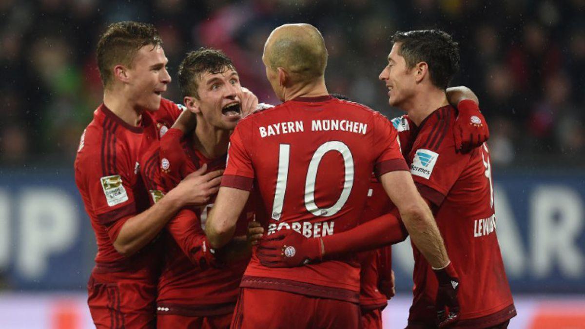 Arturo Vidal fue titular en nueva victoria del Bayern Munich