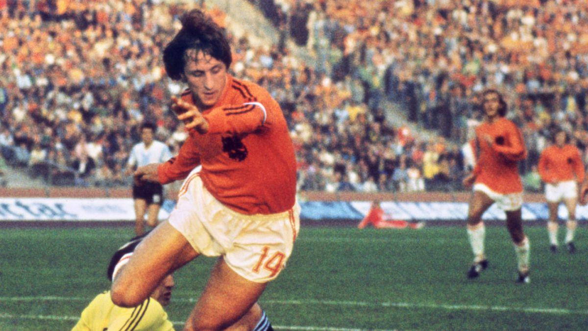 """fue el líder de la """"Naranja Mecánica"""" que deslumbró al mundo en los '70 y en el año 1974 fue subcampeón del mundo."""