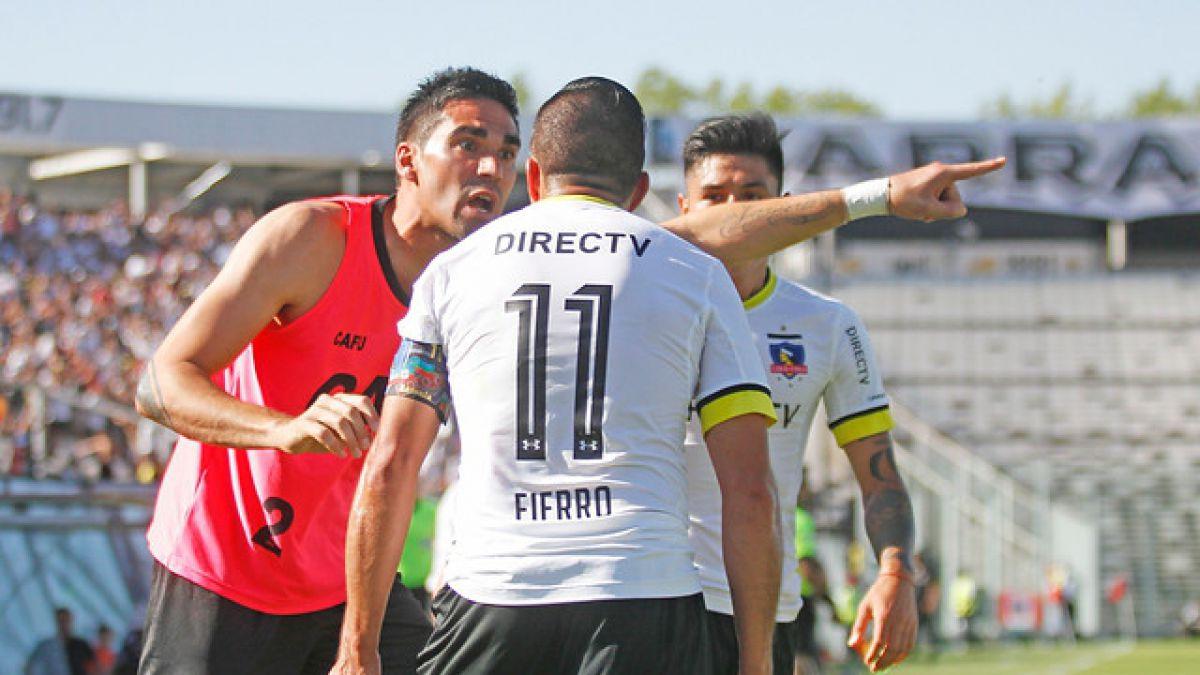 La polémica generada tras el gol de Gonzalo Fierro frente a Antofagasta