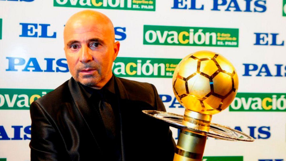 """Sampaoli tras recibir galardón en Uruguay: """"No descarto volver algún día a dirigir a Chile"""""""