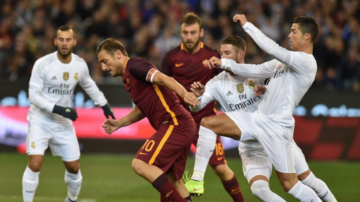 Partido Roma-Real Madrid se roba las miradas en jornada de Champions