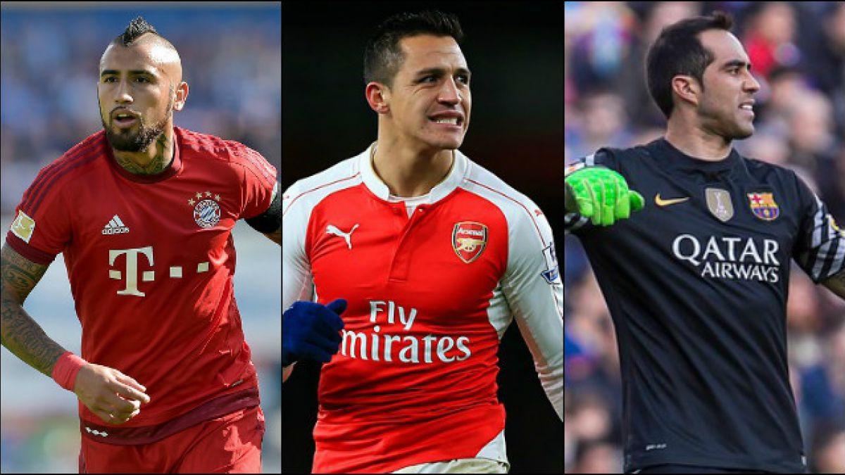 Vidal, Alexis y Bravo: los deportistas chilenos más atractivos para la prensa internacional en 2015