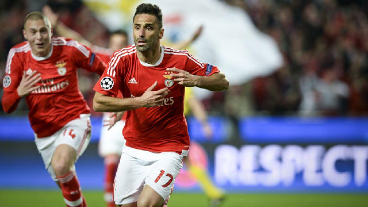 Benfica consigue agónico triunfo sobre Zenit por la Champions League