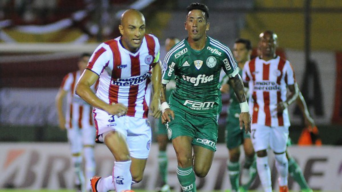 Palmeiras perdió la opción de ganar en Uruguay en la Libertadores
