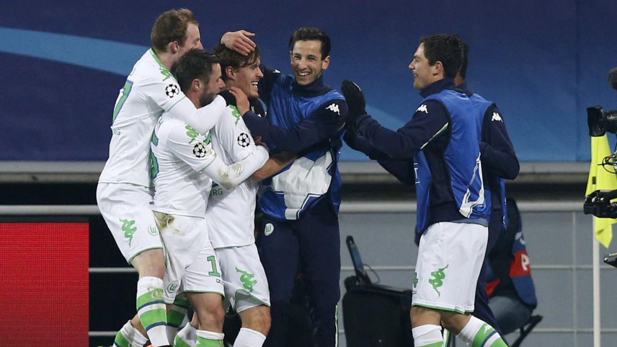 Wolfsburgo vence con lo justo al Gent y da primer golpe en octavos de Champions