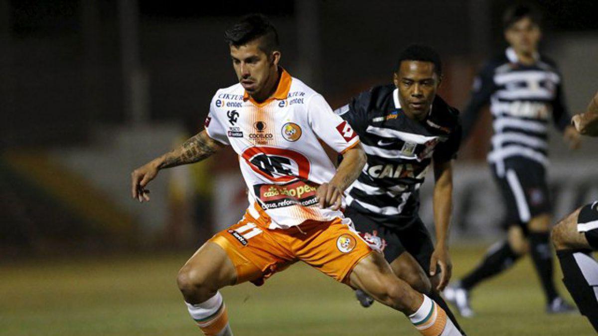 [MINUTO A MINUTO] En el último minuto Cobresal pierde ante Corinthians en la Libertadores