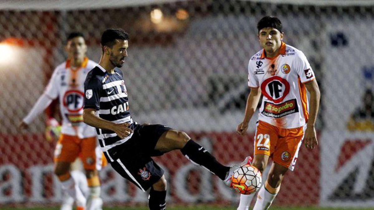 Cobresal perdió el invicto en la Libertadores en el último minuto de partido