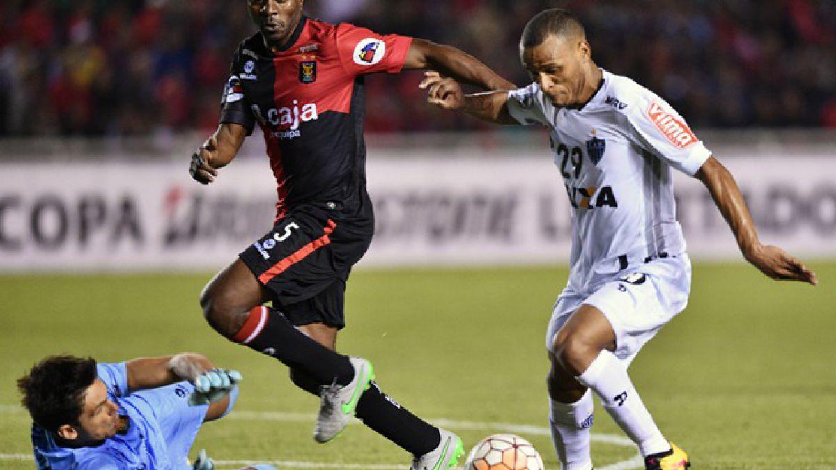 Atlético Mineiro consigue un importante triunfo en Perú por la Libertadores