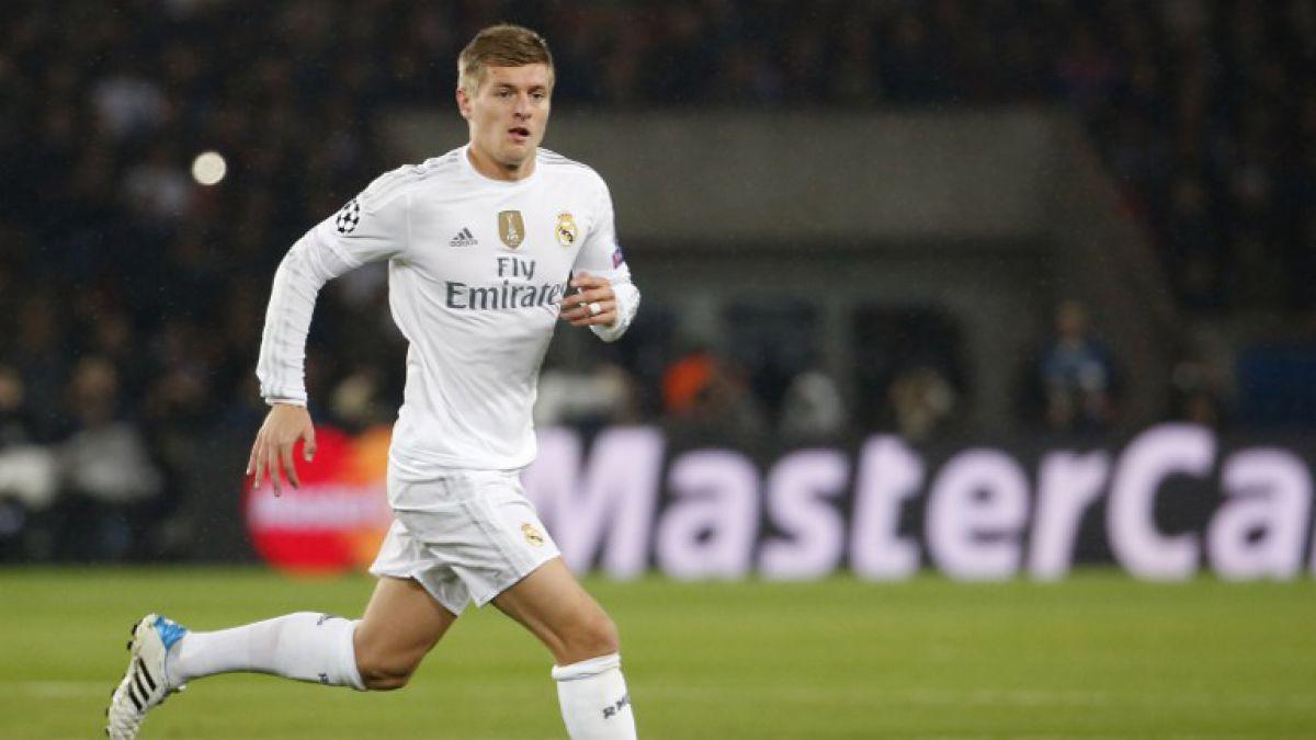 La impecable precisión de Toni Kroos: 96% de pases correctos ante la Roma