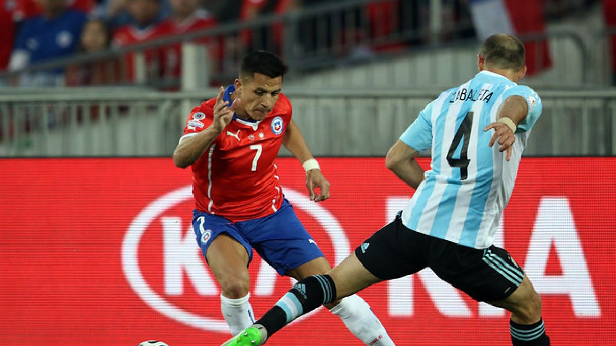 Argentina suma una baja para su duelo ante Chile por Clasificatorias