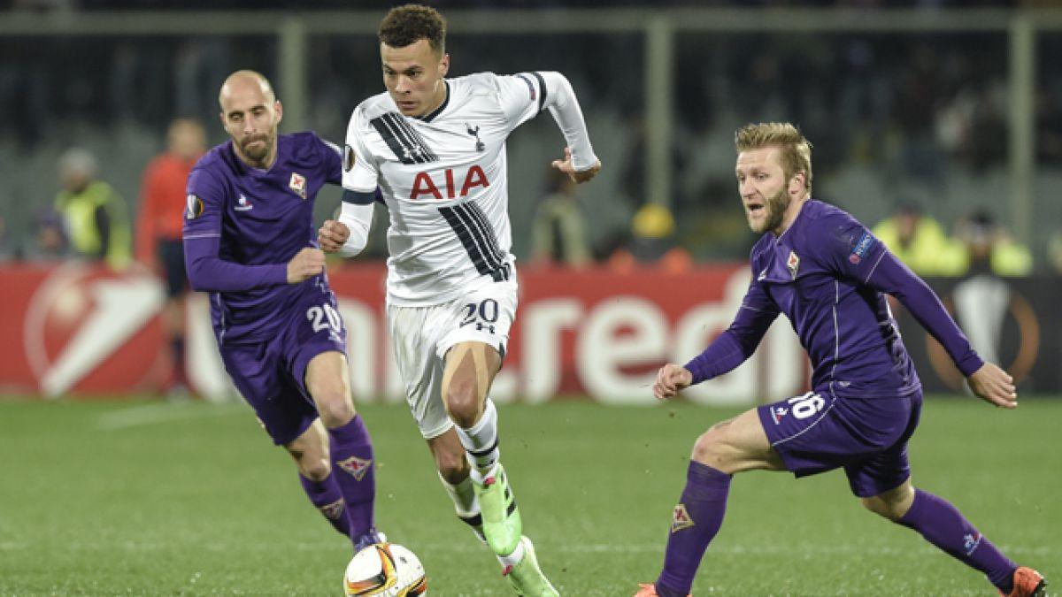 Fiorentina de Matías Fernández iguala ante Tottenham por la Europa League