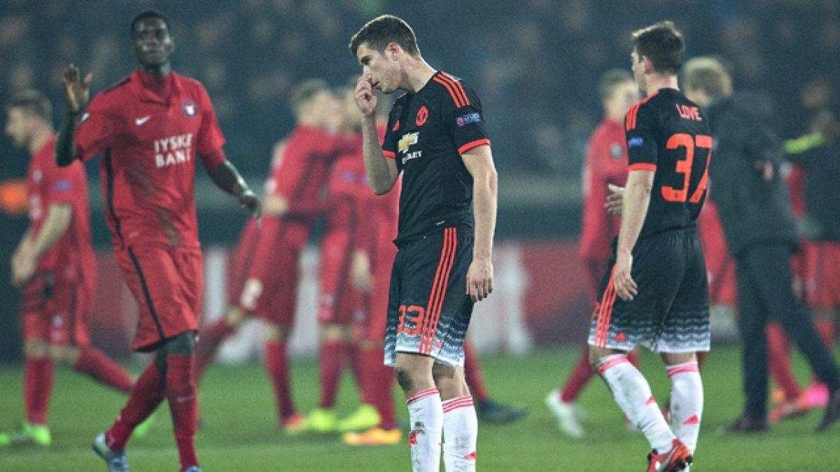 Midtjylland sorprende al Manchester en la Europa League