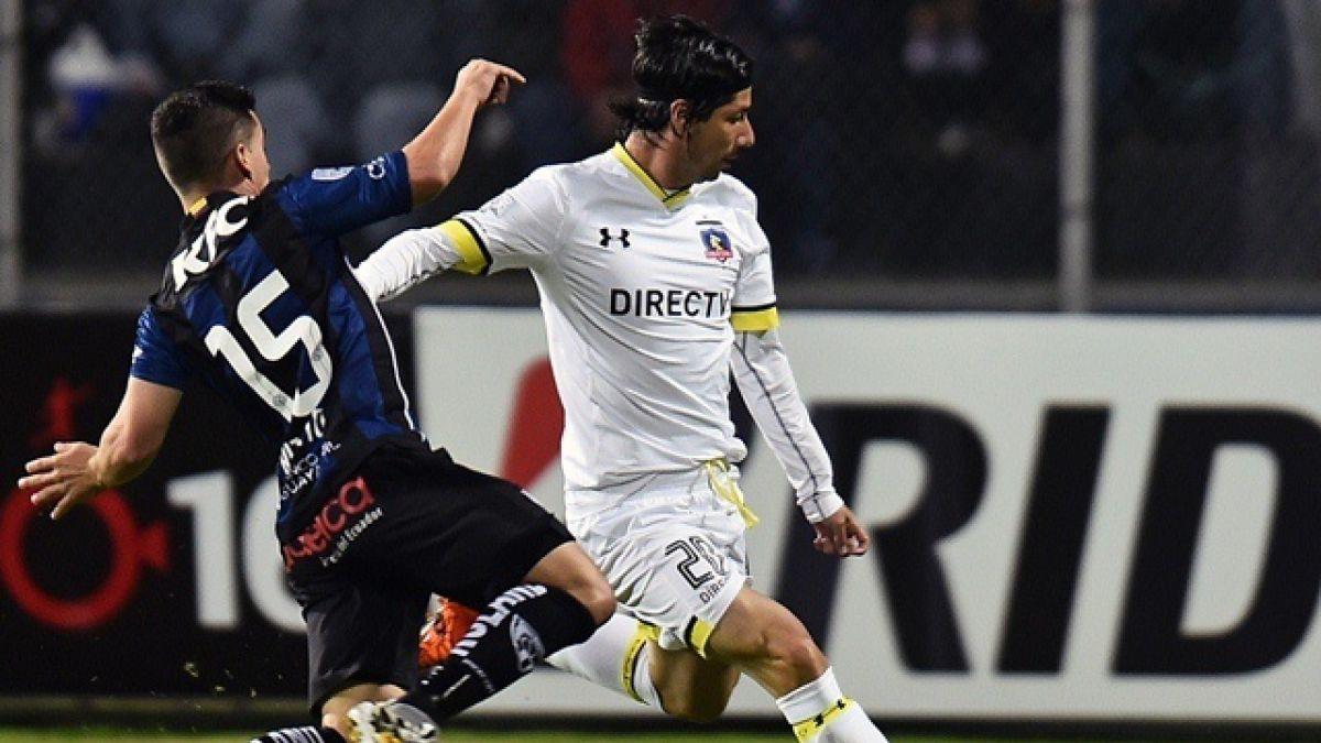 Colo Colo rescata un empate en Ecuador por Copa Libertadores