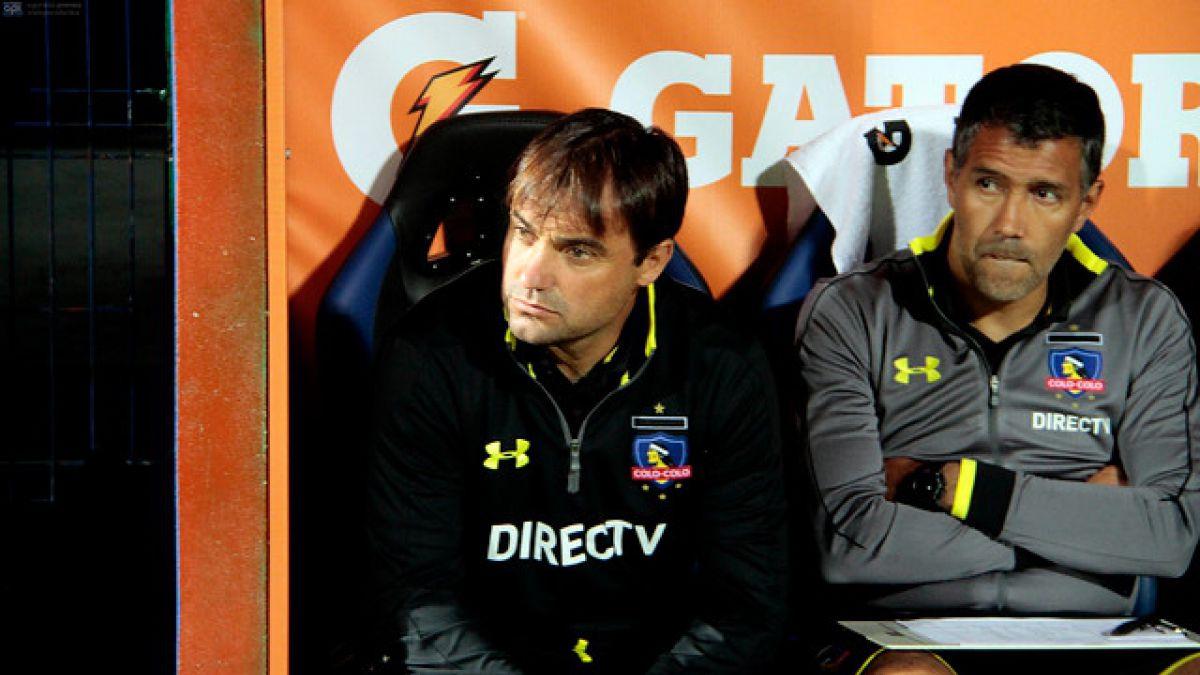 Dirigencia de Colo Colo confirma la partida de José Luis Sierra y su cuerpo técnico