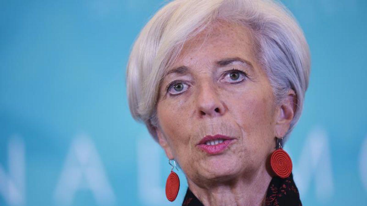 Christine Lagarde es reelecta al frente del FMI