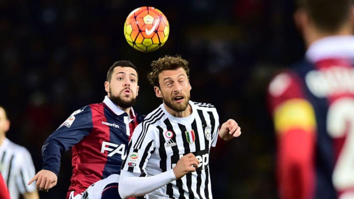 Bologna de Erick Pulgar iguala ante Juventus por la Serie A