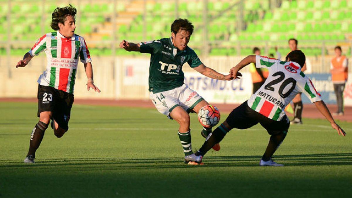 Palestino iguala ante Santiago Wanderers y arriesga perder la punta del Clausura