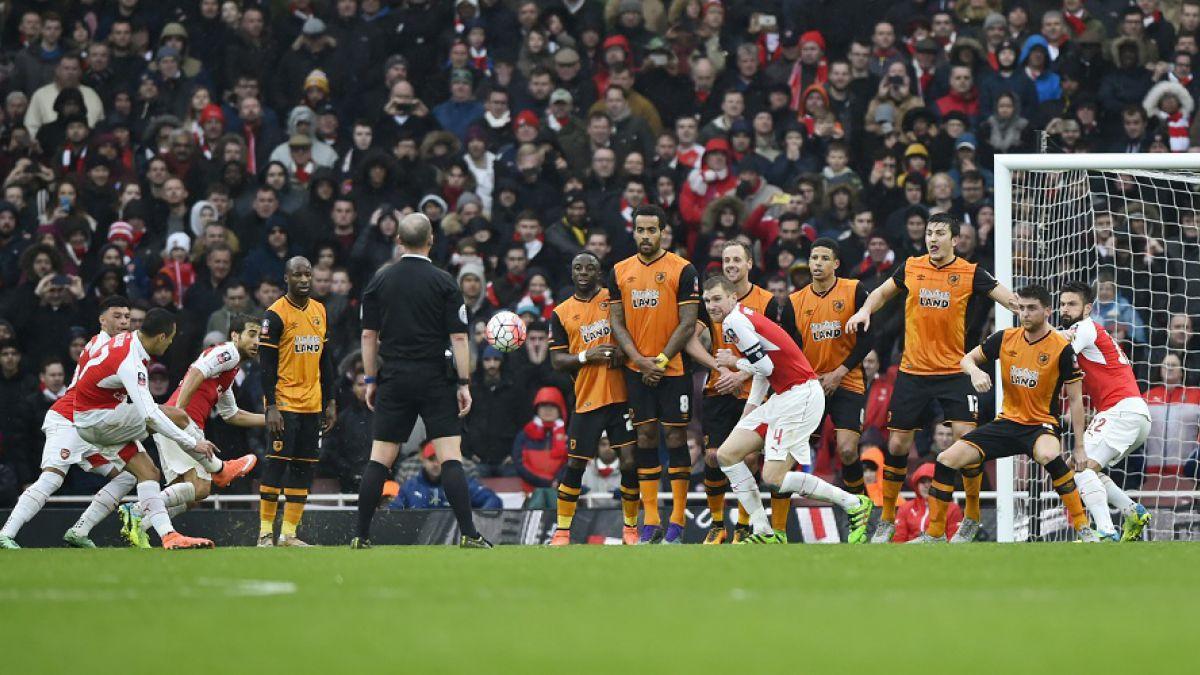 Alexis Sánchez jugó 24 minutos en empate del Arsenal y disputará Replay de la Copa FA