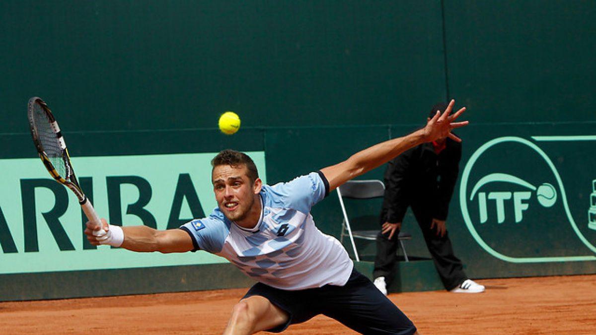 Tenista Juan Carlos Sáez está en final del Futuro 7 de Estados Unidos