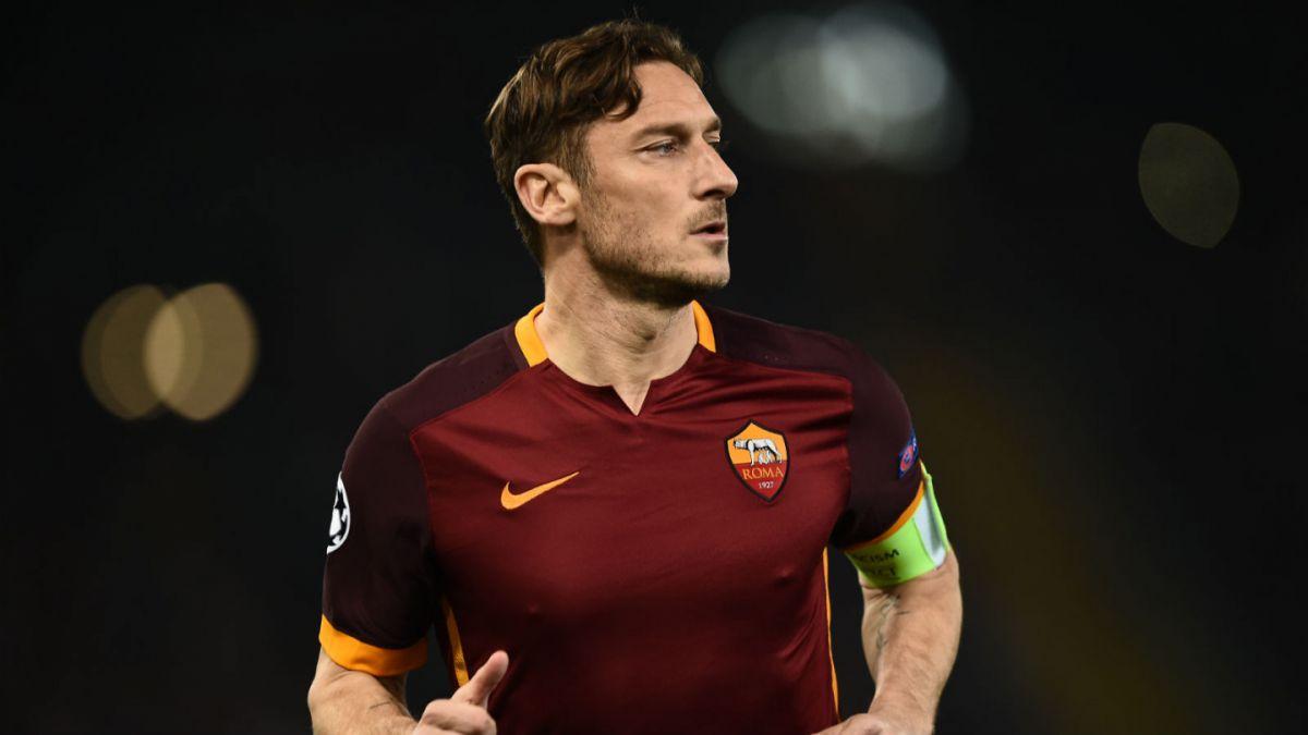 Exige respeto: Francesco Totti arremete contra nuevo técnico de la Roma