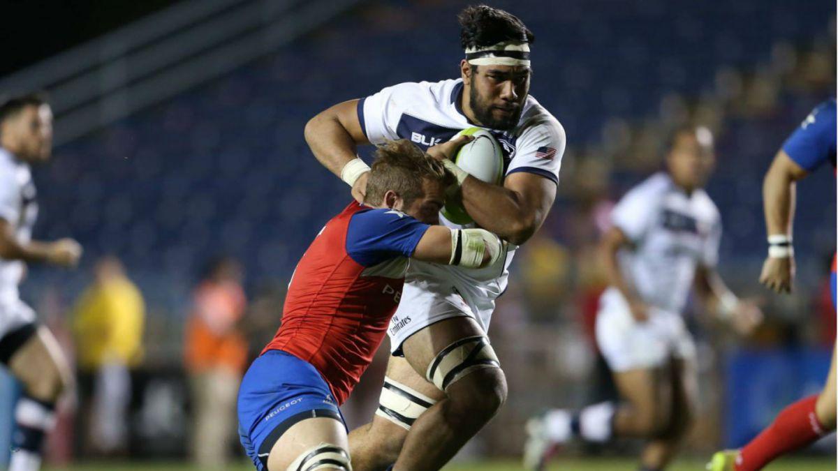 Chile recibe paliza de Estados Unidos en el Americas Rugby Championship