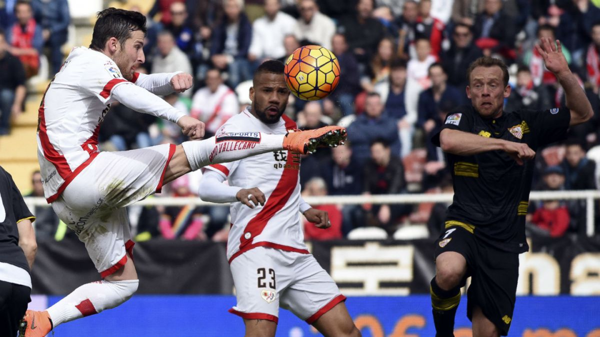 Rayo Vallecano sin Manuel Iturra consigue empate frente a Sevilla