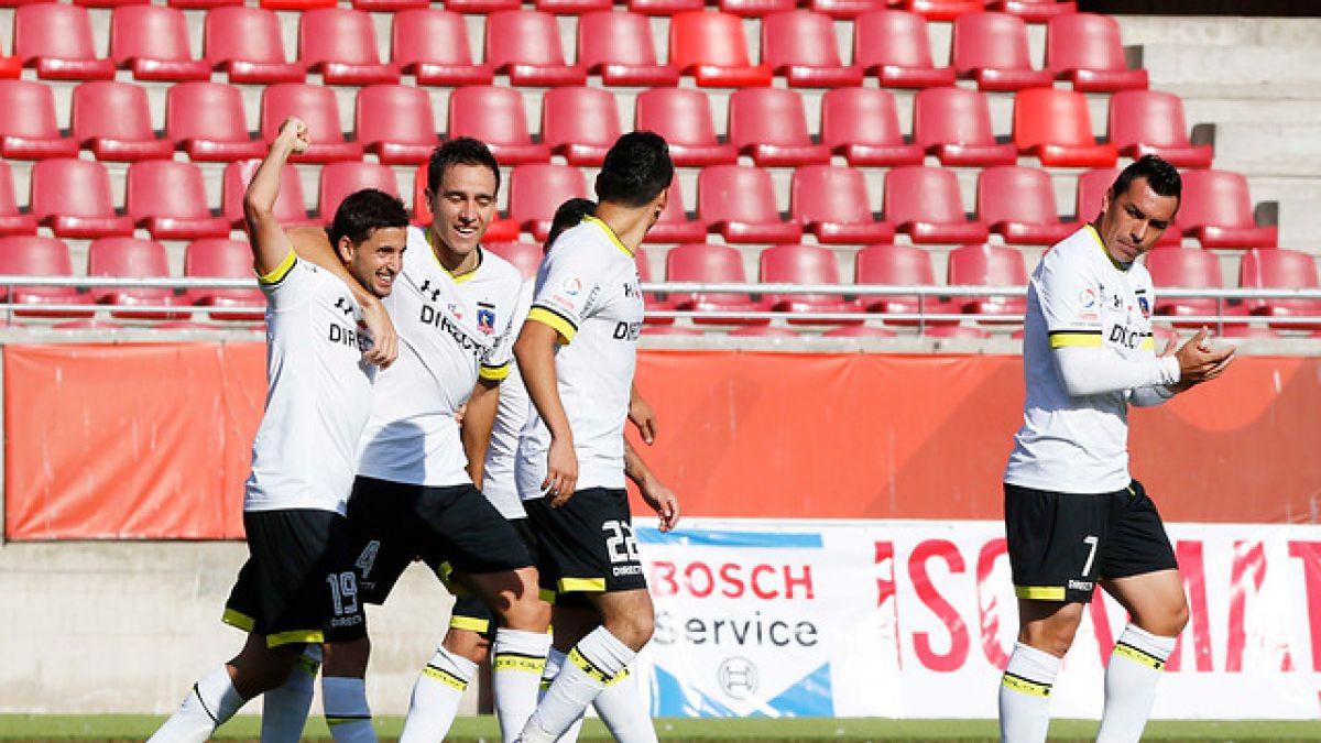 Colo Colo vence a Unión La Calera y es uno de los líderes del Clausura