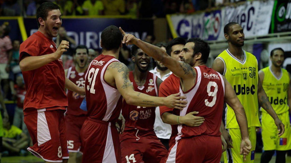 Resultado de imagen para liga nacional basquetbol chile