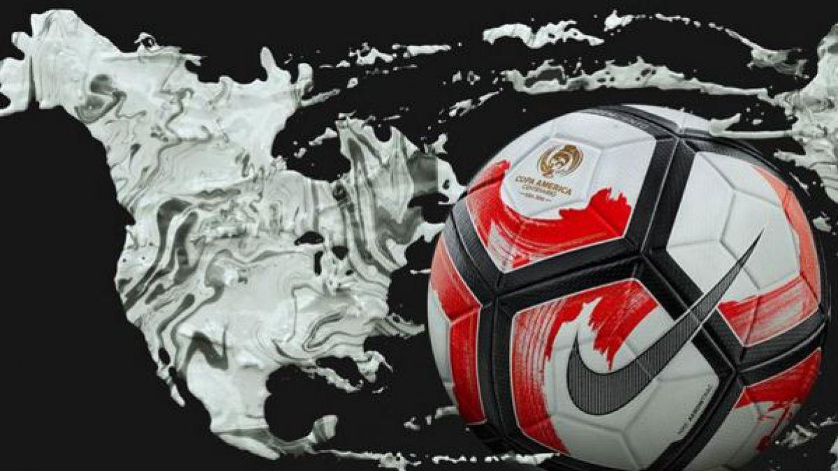 Esta es la pelota con que se jugará la Copa América Centenario