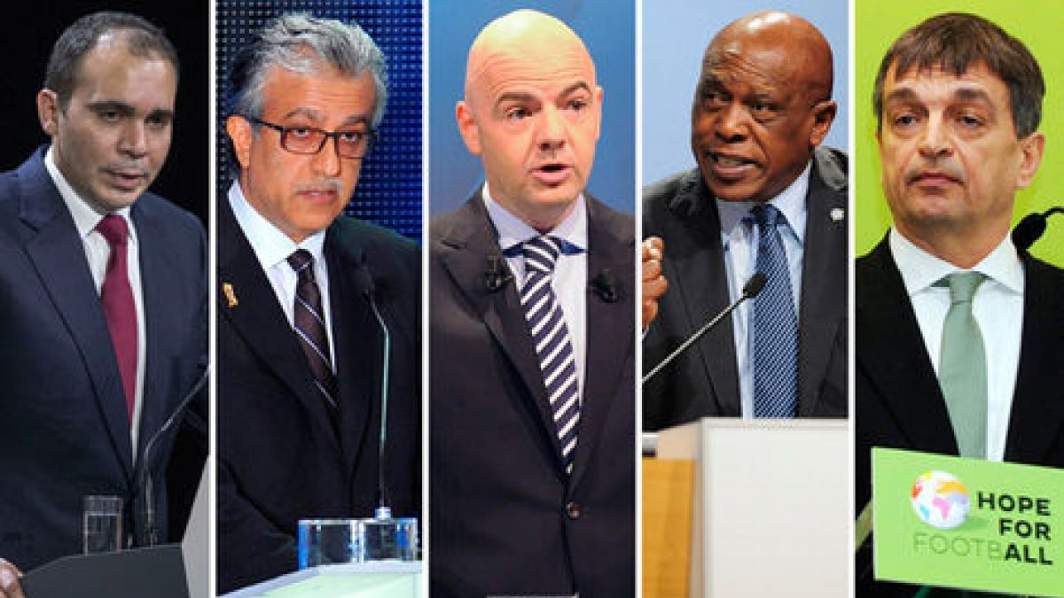 El perfil de los cinco candidatos que postulan a presidente de la FIFA