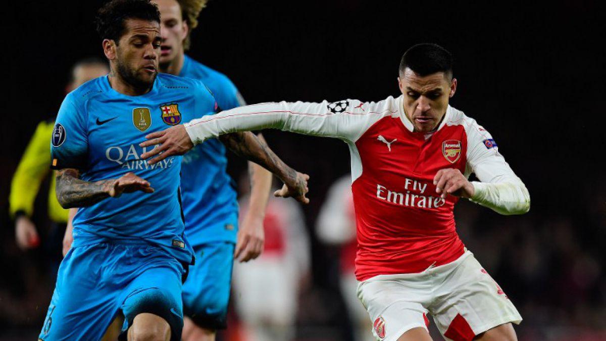 Barcelona derrota como visitante al Arsenal de Sánchez y asegura gran parte de la clasificación
