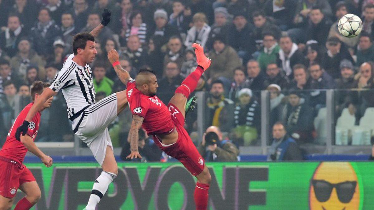 Bayern Munich con Vidal se enreda y empata ante Juventus por Champions