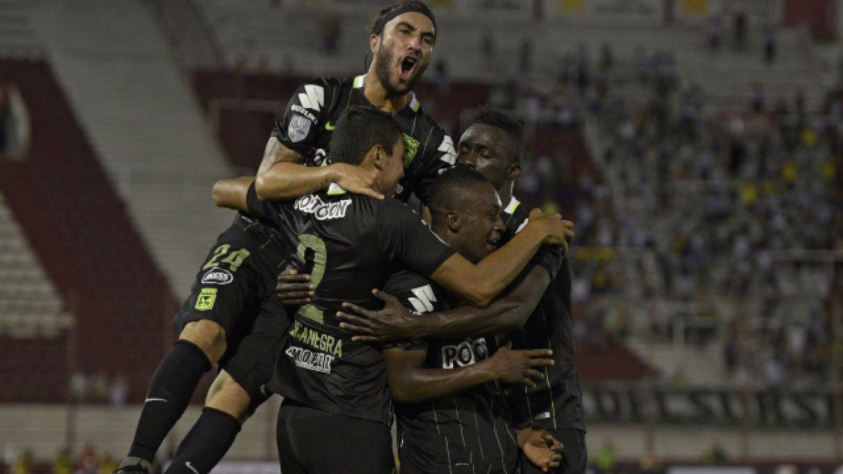 Atlético Nacional vence de visita a Huracán en la Libertadores