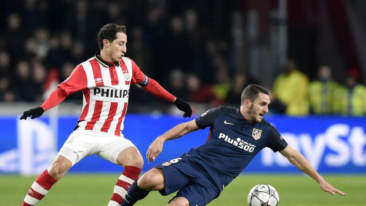 [MINUTO A MINUTO] Atlético de Madrid iguala ante PSV de Holanda por Champions