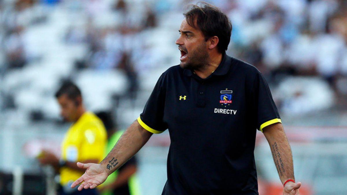"""José Luis Sierra: """"Fuimos muy superiores. No le dimos chances a Melgar"""""""