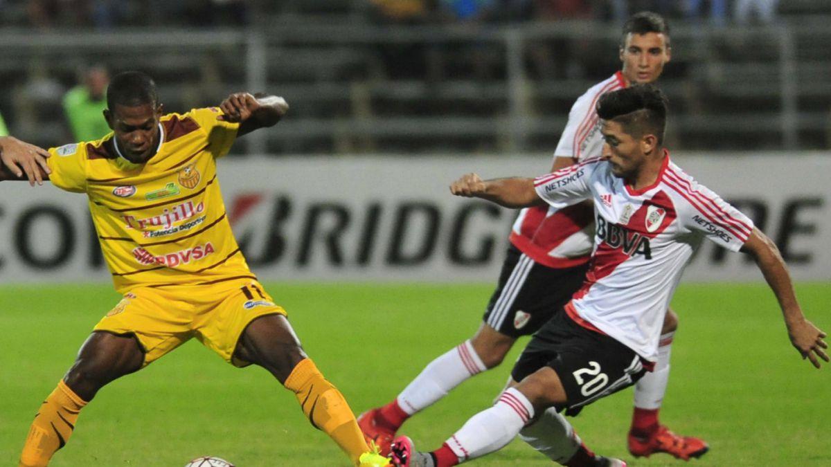 River Plate se estrenó con goleada en la Copa Libertadores