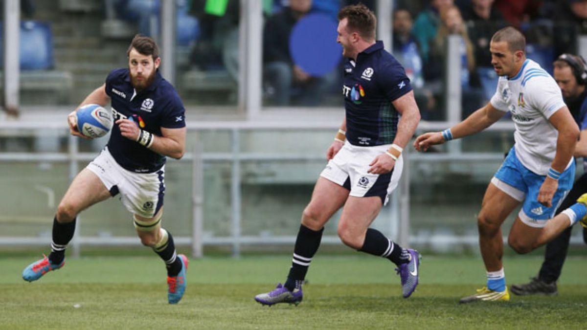 Escocia vence a Italia en la tercera jornada del Seis Naciones