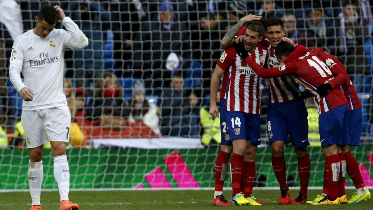 El Atlético le propina su primera derrota al Real Madrid de Zidane