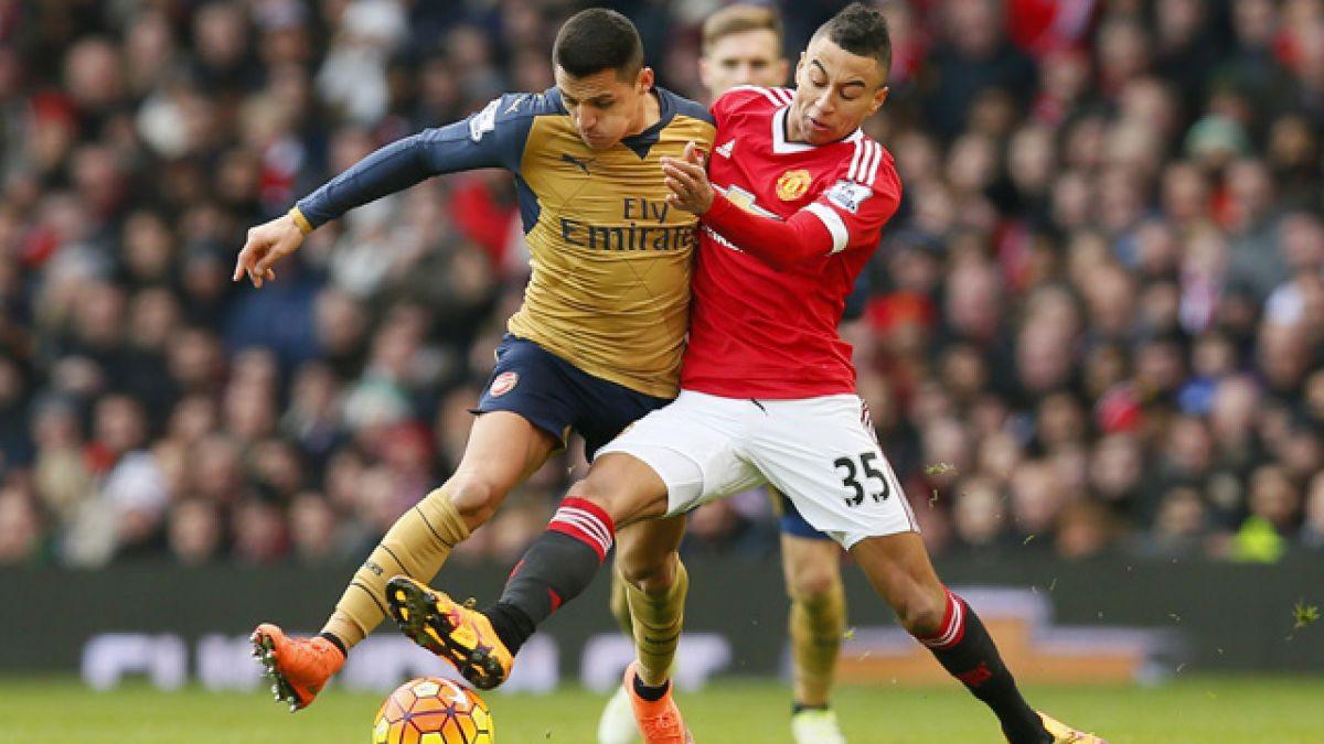 Arsenal FC y Alexis no pueden ante Manchester United en el Old Trafford