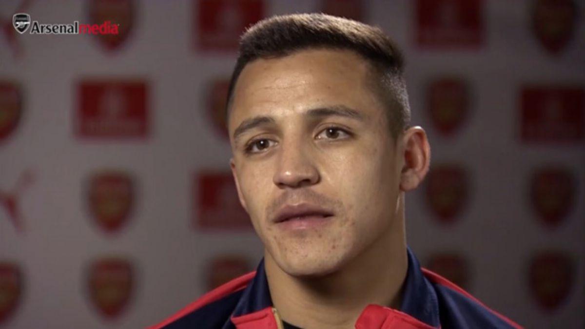 """Alexis y su primera entrevista en inglés: """"Arsenal es mi familia ahora"""""""