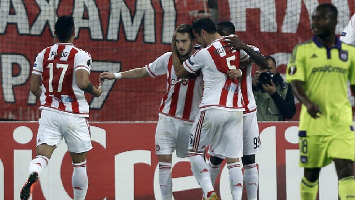 Olympiacos, primer club europeo en proclamarse campeón de liga