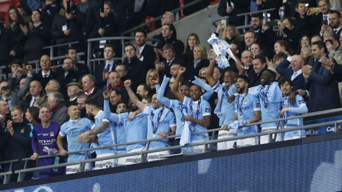 Manchester City gana la Copa de la Liga y Pellegrini suma su tercer título en el club