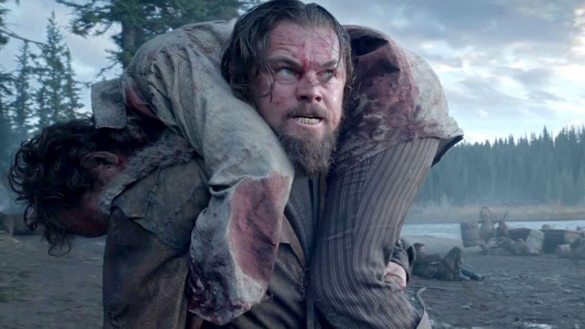 """Leonardo DiCaprio en su rol en """"Revenant: El renacido"""""""