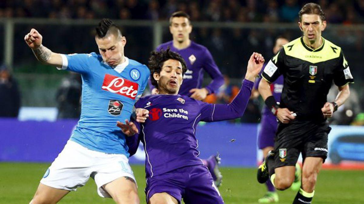 Fiorentina de Fernández y el Napoli reparten puntos en Italia